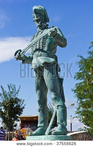 Statue Of The Hungarian Hussar