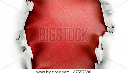 Red Paper Hole.