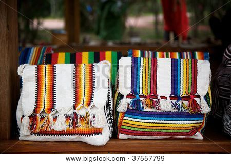 Colorful Guarani Bags