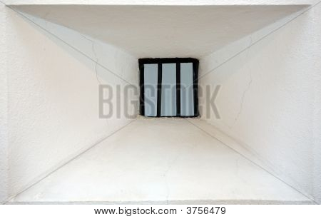 Window Jail Abstract