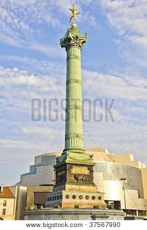 The Place De La Bastille, Paris