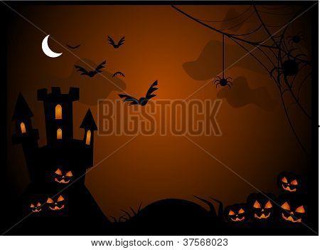 Halloween spooky vector