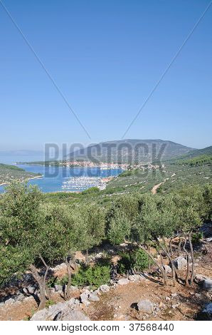 Cres Town,Cres Island,Croatia