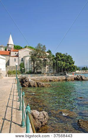 Promenade of Opatija,Istria,Croatia