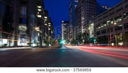 University Street In Montreal