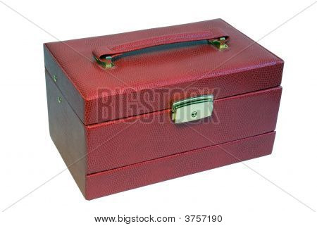 Red Box For Womans Trinkets