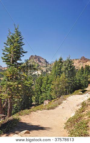 A Hiking Trail at Lassen Park California