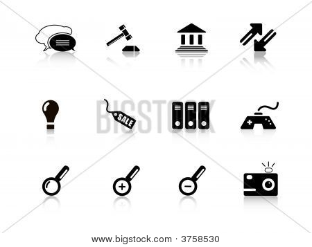 Web Icon Set From Series