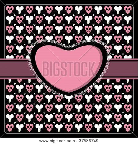 Emo Gothic Romantic Frame