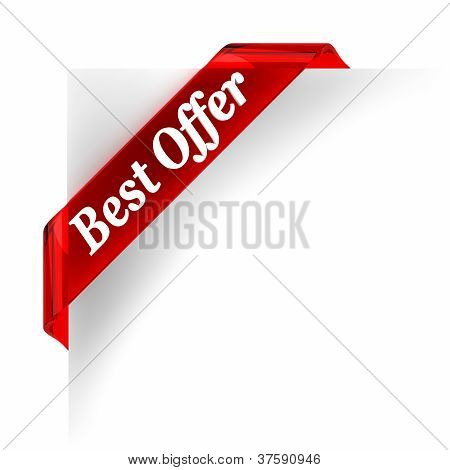 Best Offer Red Banner