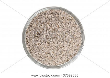 Bowl Of Chia Seeds