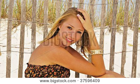 Pretty Girls On The Beach