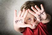 stock photo of shame  - Stop Bullying - JPG