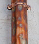 Copper Drainpipe poster