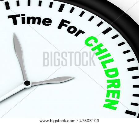 Time For Children Message Meaning Playtime Or Getting Pregnant