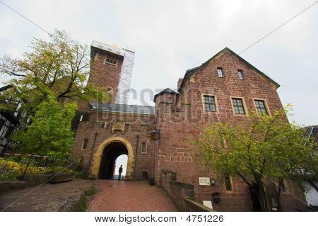 Tourist In A Castle