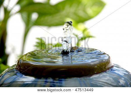 A Small Fountain.