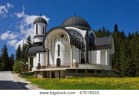 Church In Ski Resort Pamporovo