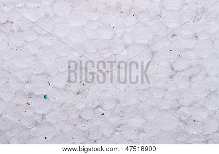 Dirty Polystyrene Foam