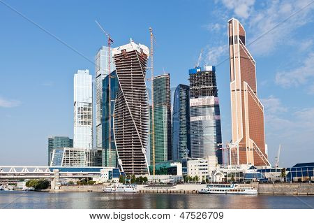New Towers Of Moscow City