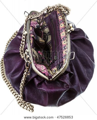 Retro Style Leather Bag