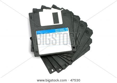Black Diskettes I
