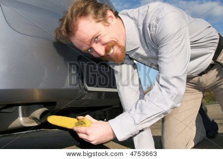 Banana And Exhaust