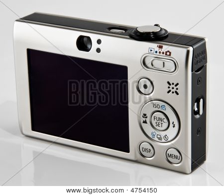 Point And Shoot Digital Camera Back