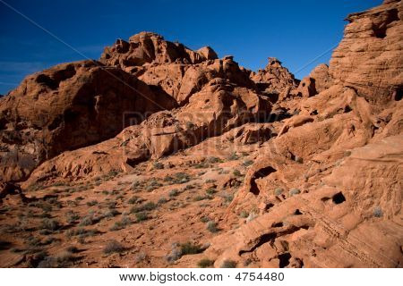 The Valley Of Fire Landscape