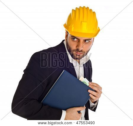 Businessman With Bribe