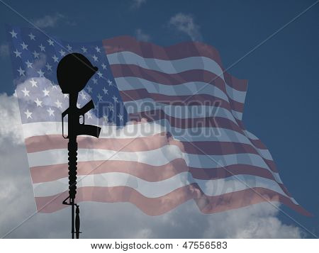 Soldado caído USA