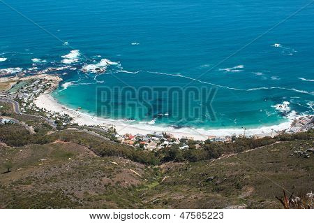 Image Of Clifton Beach From Lions Head