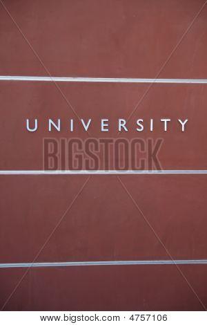 University Wall