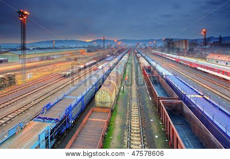 Train Freight Transportation Platform - Cargo Transit