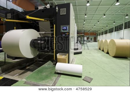 Newspaper Printing House