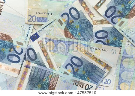 Euro Bills - 20