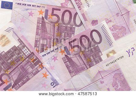 Euro Bills - 500