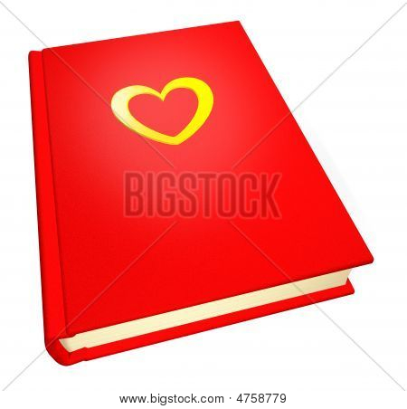 Red teenage diary