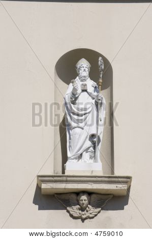 Statue Of Catholic Saint