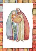 picture of mary  - Christmas nativity scene - JPG
