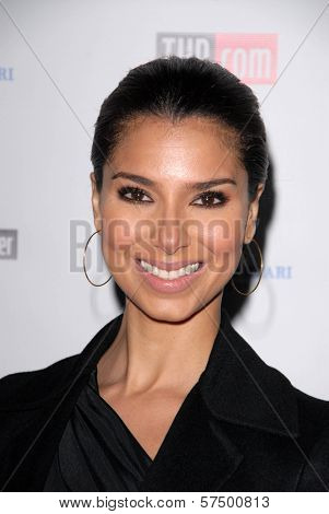 Roselyn Sanchez at the Hollywood Reporter