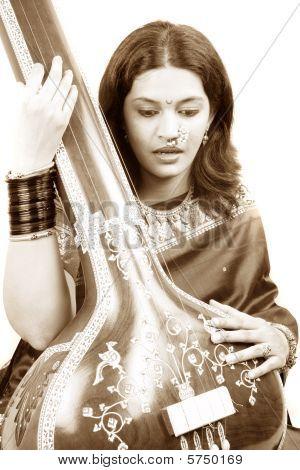 Classy Indian Singer