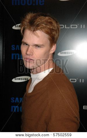 Brendan Miller at the Samsung Behold ll Premiere Launch Party, Blvd. 3, Hollywood, CA. 11-18-09
