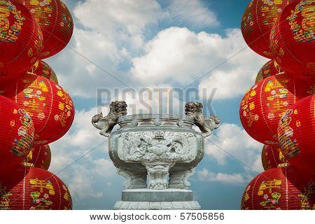 Make A Sacrifice To Gods, Chinese New Year