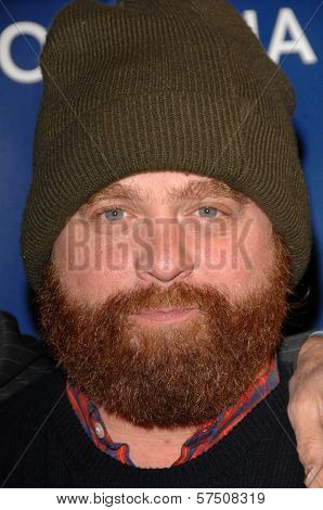 Zach Galifianakis at the 2009 Oceana Annual Partners Award Gala, Private Residence, Los Angeles, CA. 11-20-09