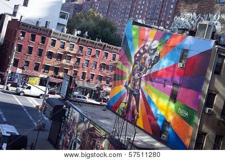 Famous Mural New York City