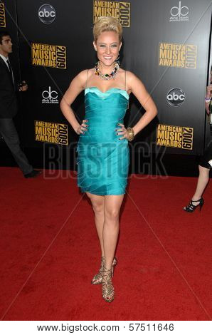 Lauren C. Mayhew at the 2009 American Music Awards Arrivals, Nokia Theater, Los Angeles, CA. 11-22-09