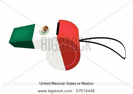 A Whistle Of The United Mexican States