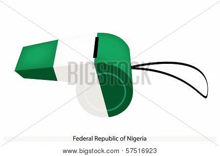A Whistle Of Federal Republic Of Nigeria