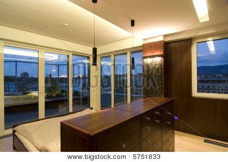 contemporary loft - sleeping